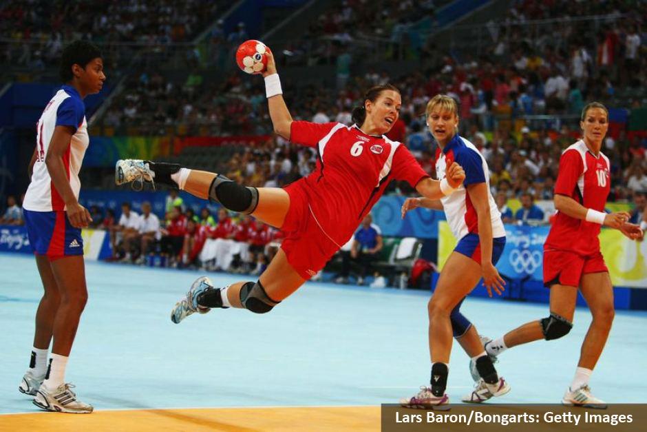 woman handball